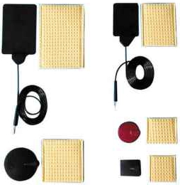 IFT pad electrodes
